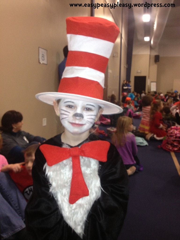 Leah as Cat in the Hat