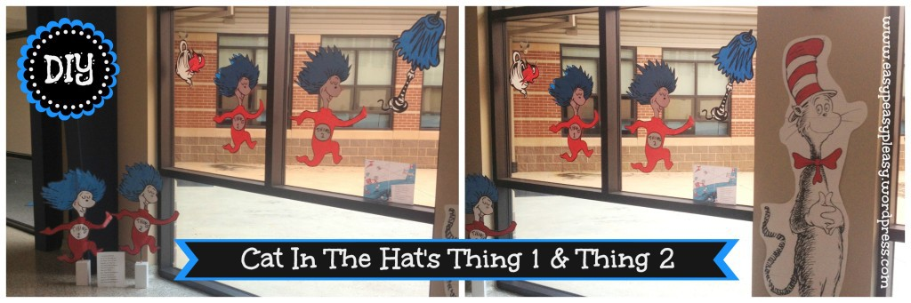 Cat In The Hat's Thing 1 & Thing 2