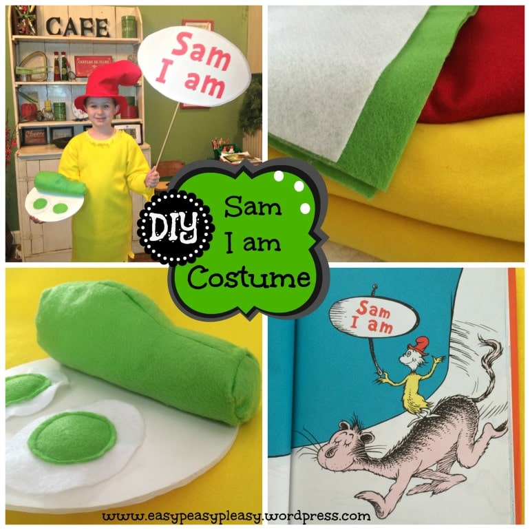 DIY Sam I Am tutorial at www.easypeasypleasy.wordpress.com