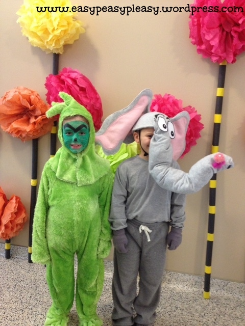 Dr. Seuss Grinch Costume & Horton Hears a Who Costume