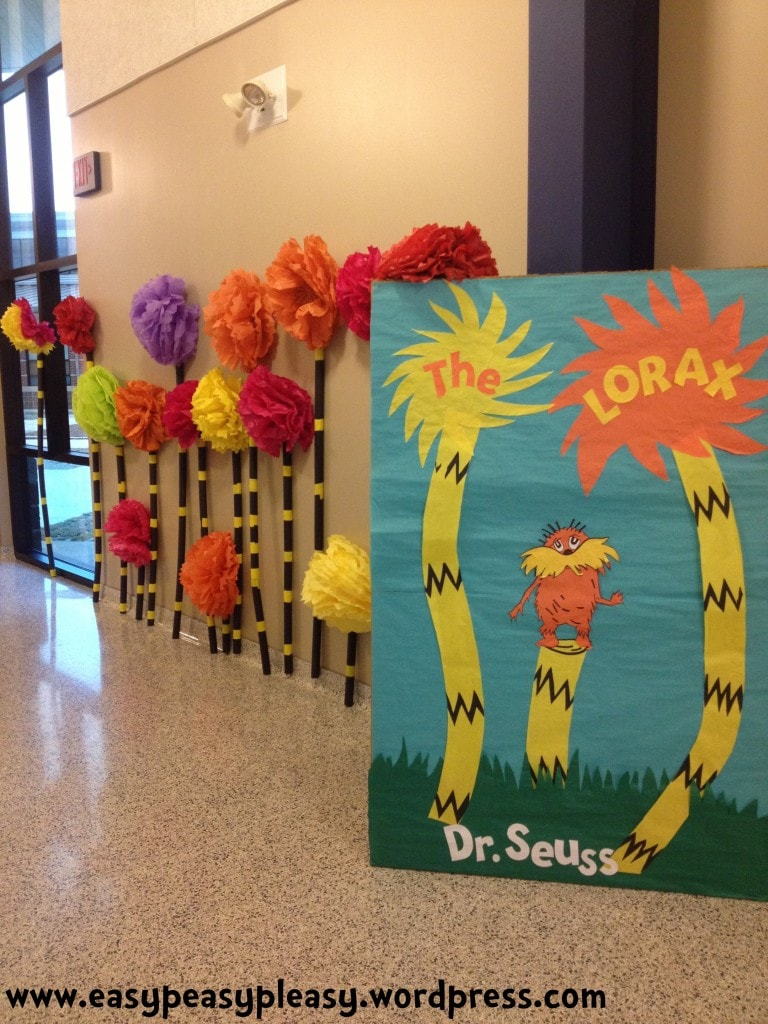 Dr. Seuss The Lorax book cover
