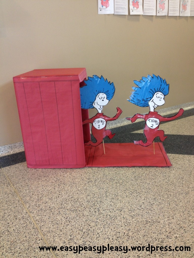Dr. Seuss Thing 1 and Thing 2