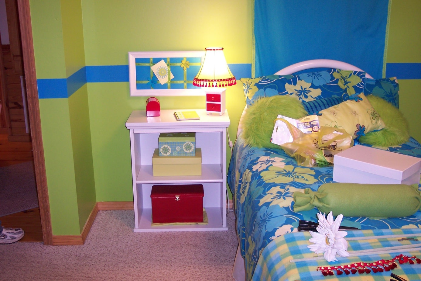 Girls bedroom on a budget in the making