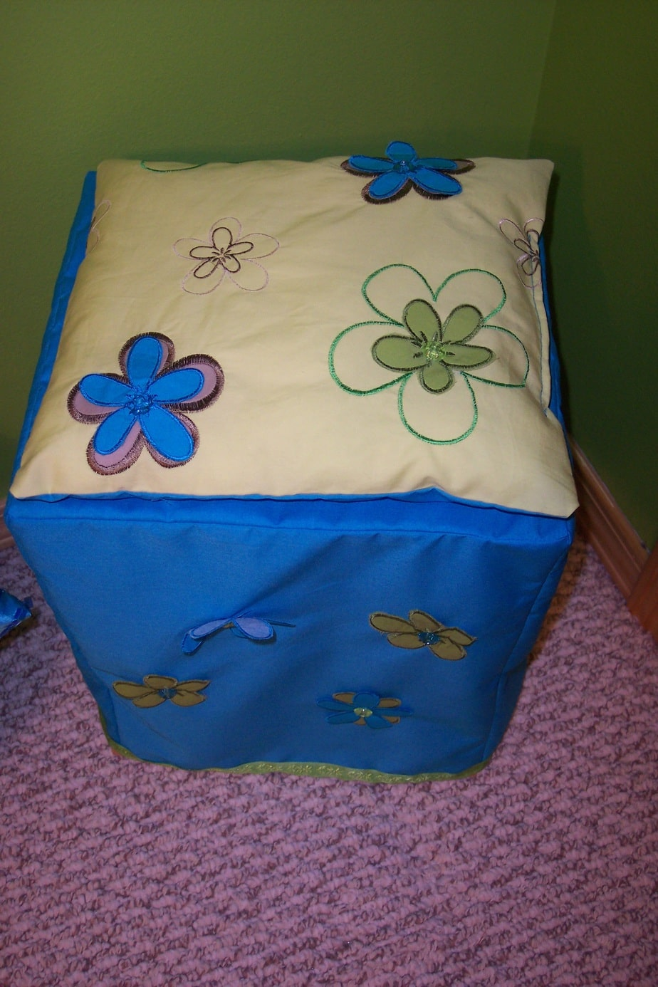 Girls bedroom on a budget throw pillow