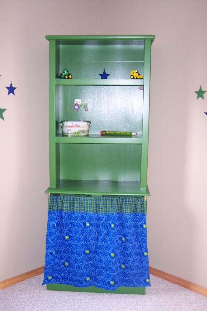 John Deere bookcase