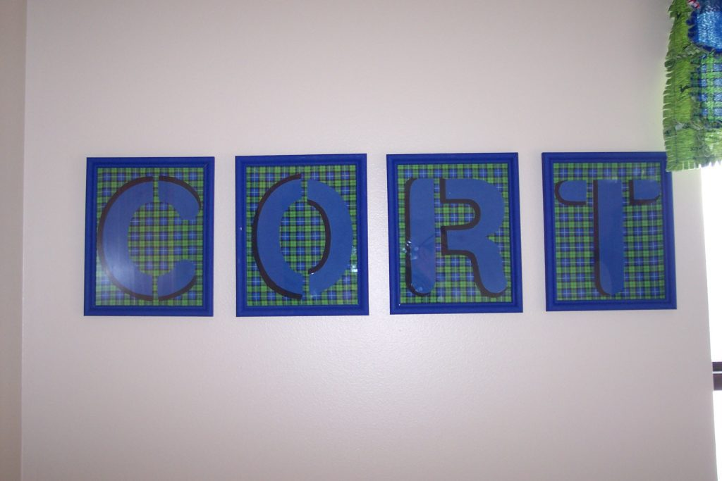 John Deere inspired name frames