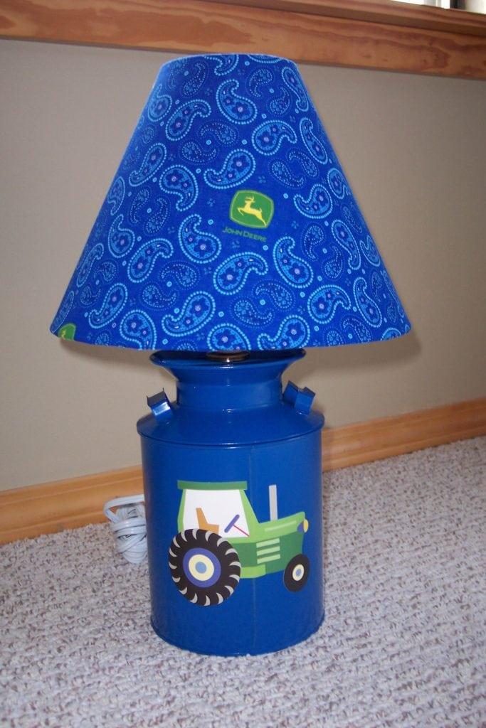 John Deere lamp