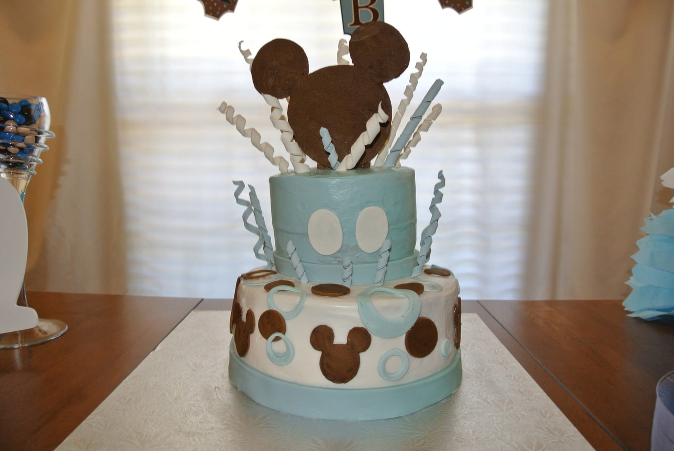 mickey mouse inspired baby shower