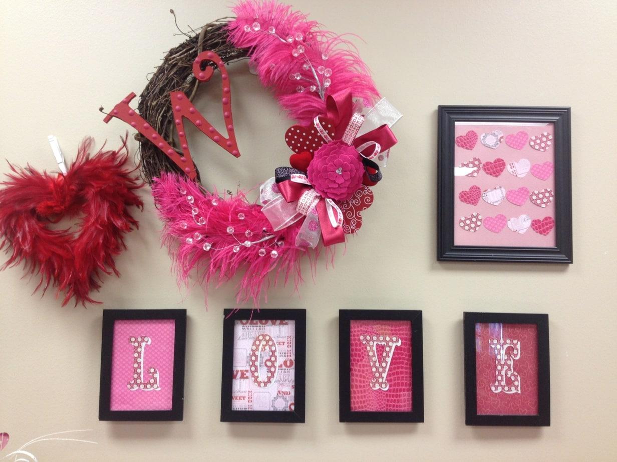 PTO Teachers Lounge Valentine Wall Decor