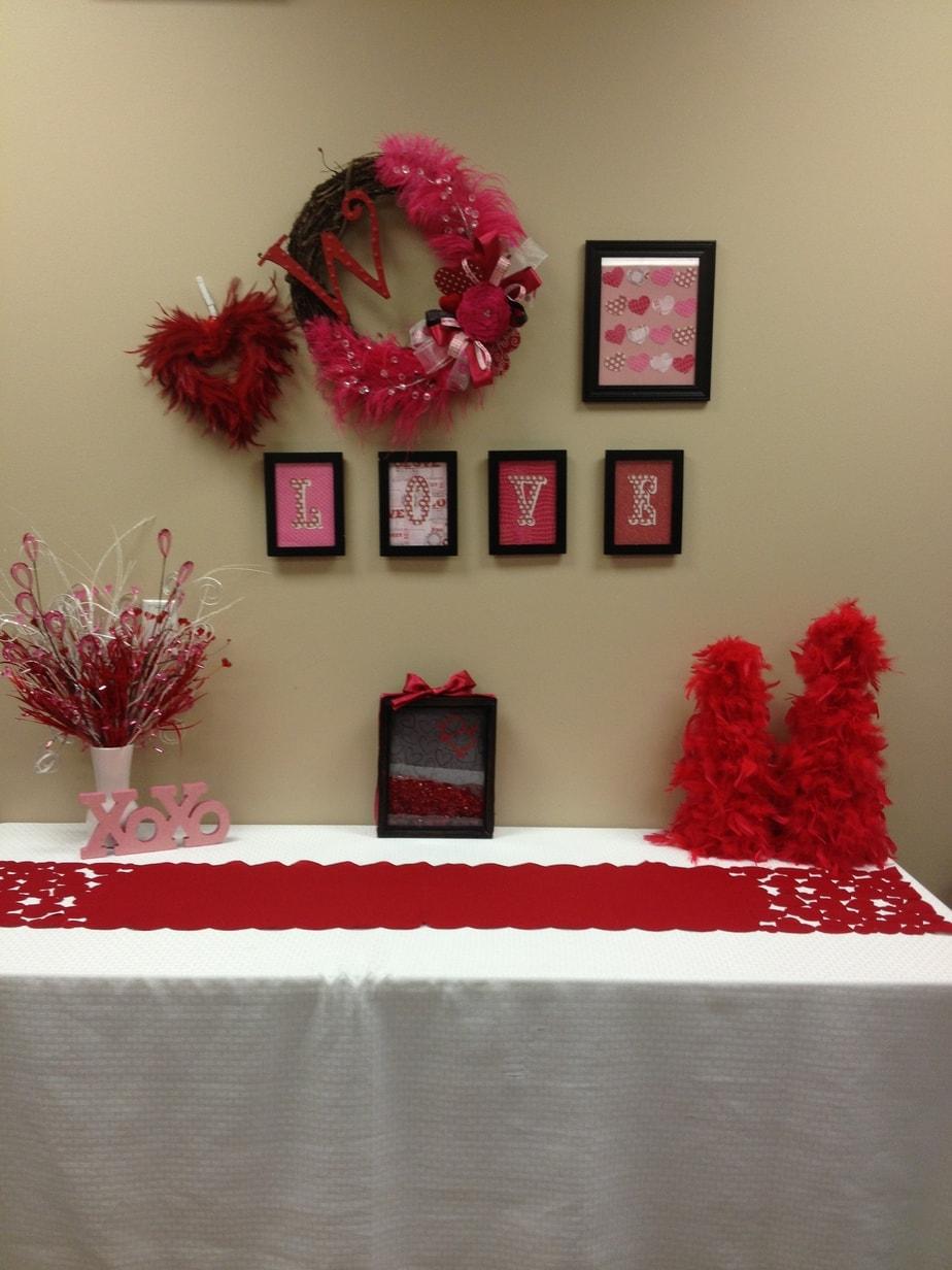 Teachers Lounge Valentine Makeover
