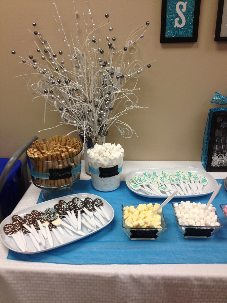 Teachers Lounge Winter Hot Chocolate Bar Chocolate Covered Spoons