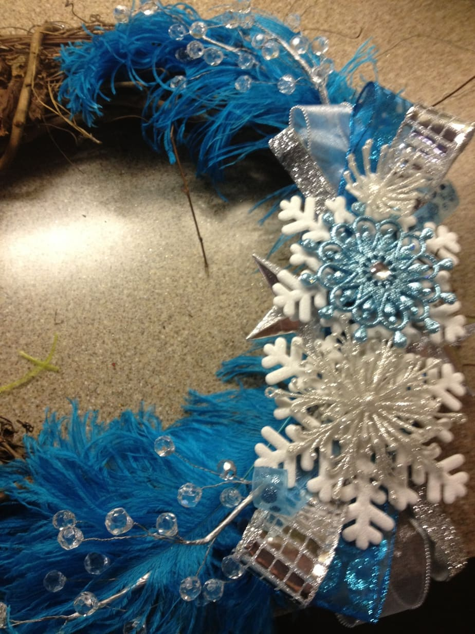 Teachers Lounge Winter Wreath embellishments