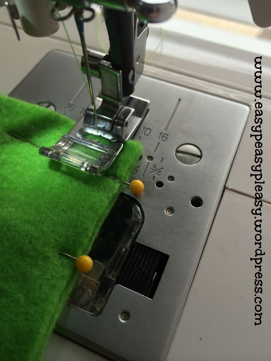 Dr. Seuss Green Eggs and Ham Costume Sewing