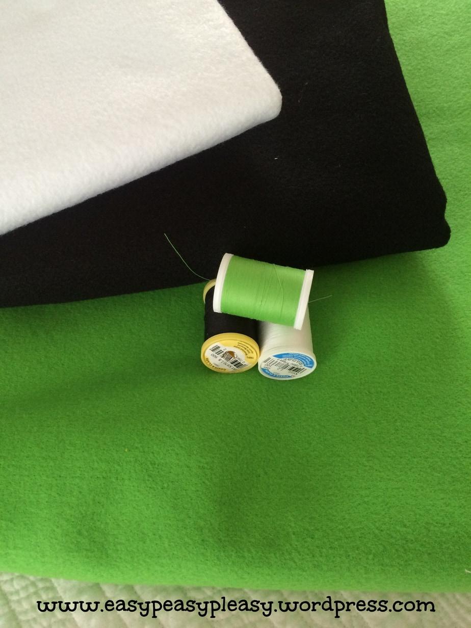 Dr. Seuss Green Eggs and Ham Costume Supplies