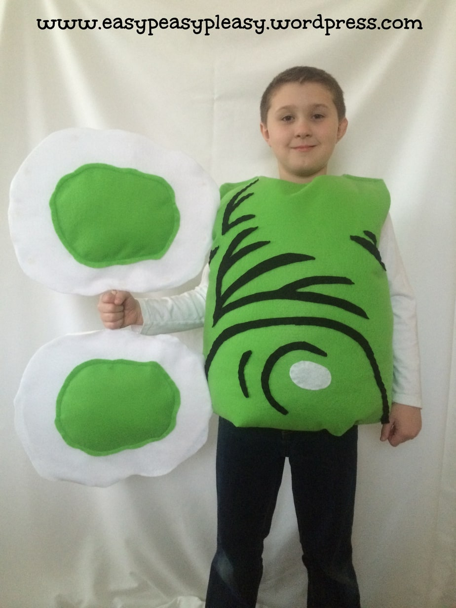 Dr. Seuss Sam I Am Green Eggs and Ham Costume