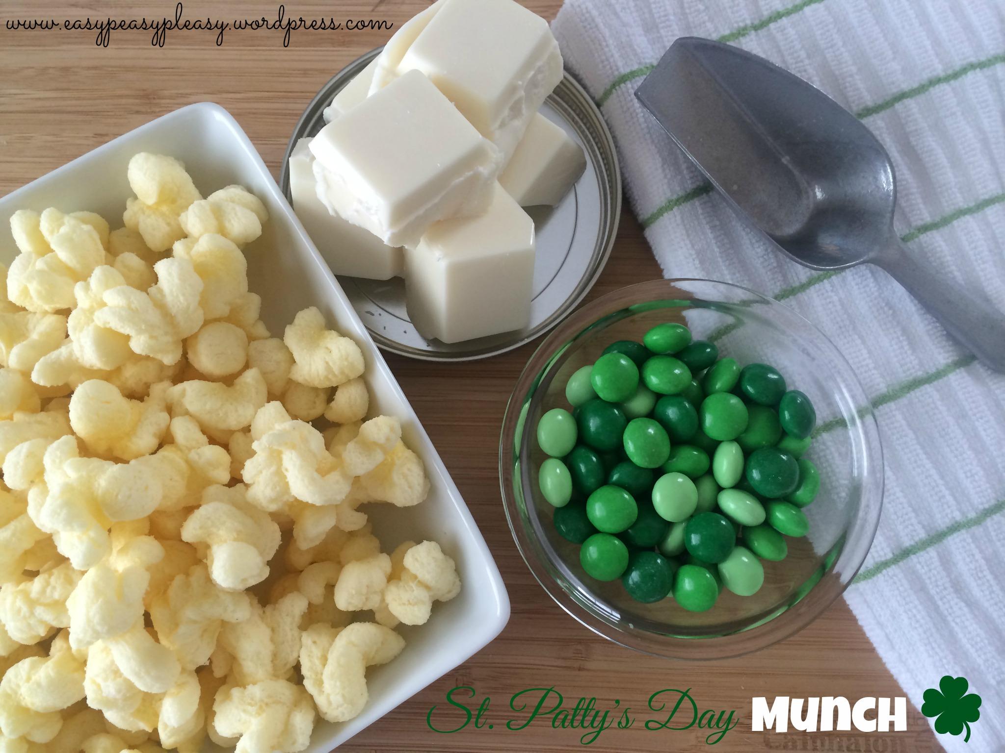 Easy St. Patrick's Day snack Idea at https://easypeasypleasy.com