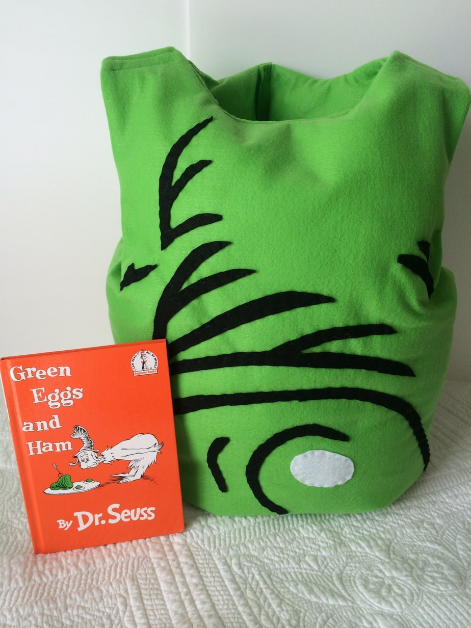Ham Costume All Sewn Up For Dr Seuss Sam I Am Green Eggs And