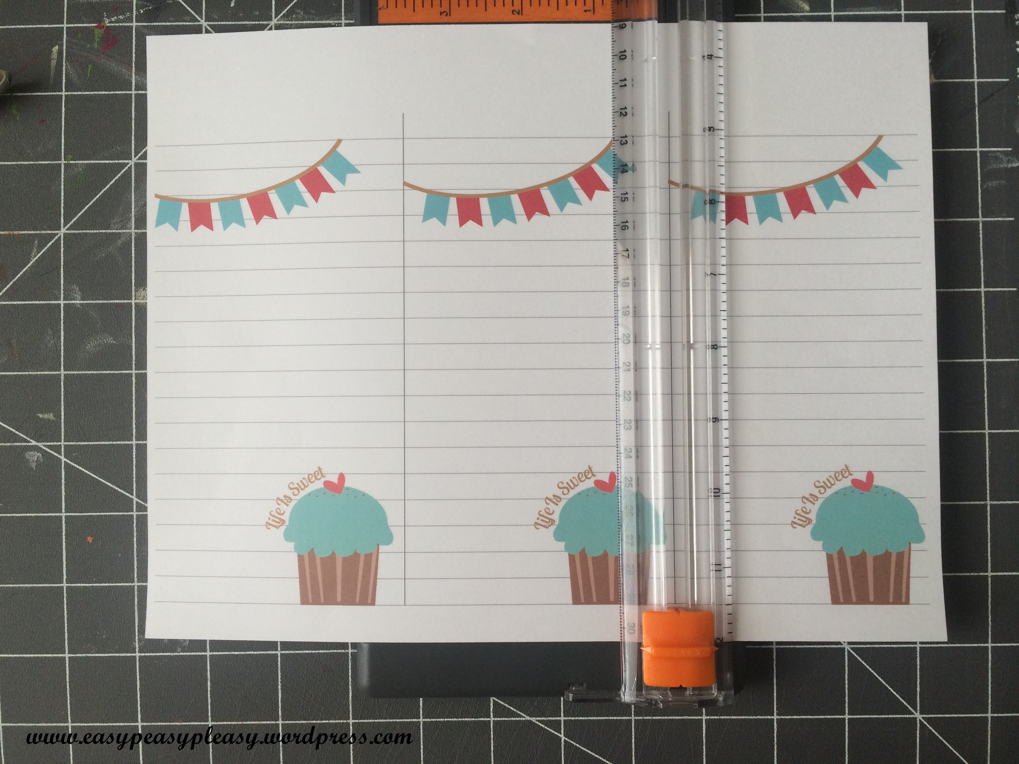 Life Is Sweet Printable and DIY instructions at https://easypeasypleasy.com