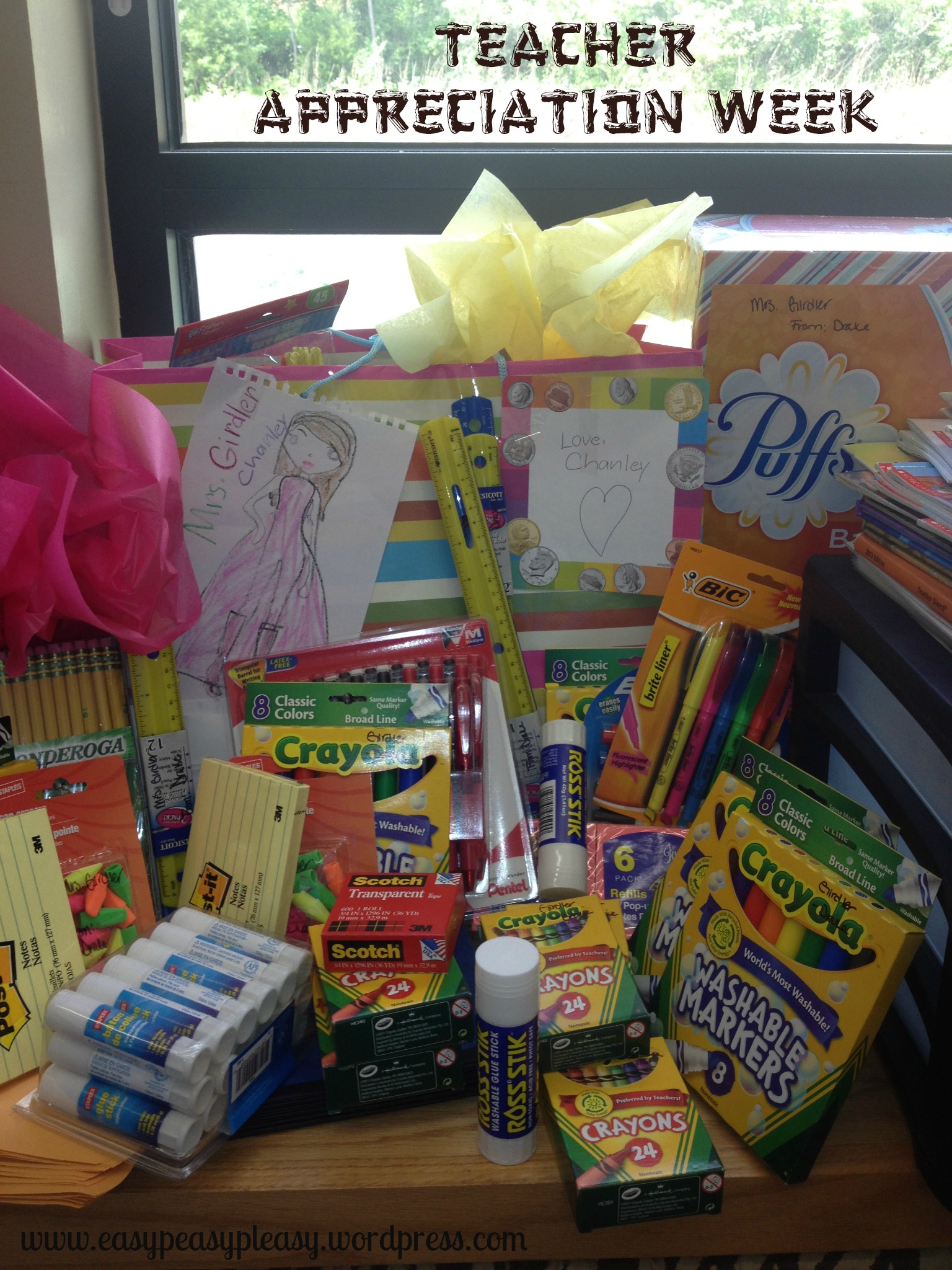 Teacher Appreciation Week Help stock the teachers with school supplies