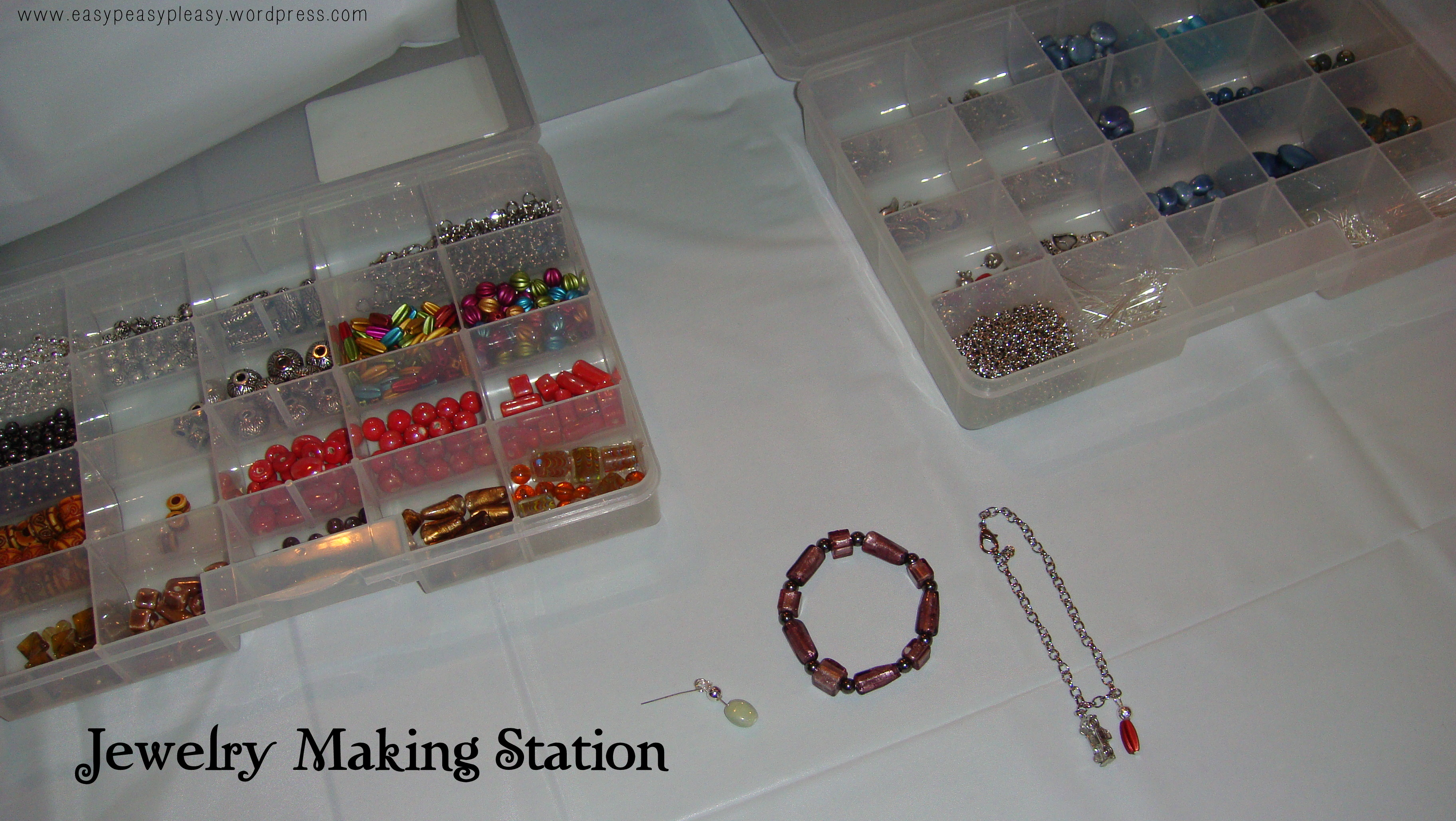 Twilight New Moon Party Jewelry Making Station