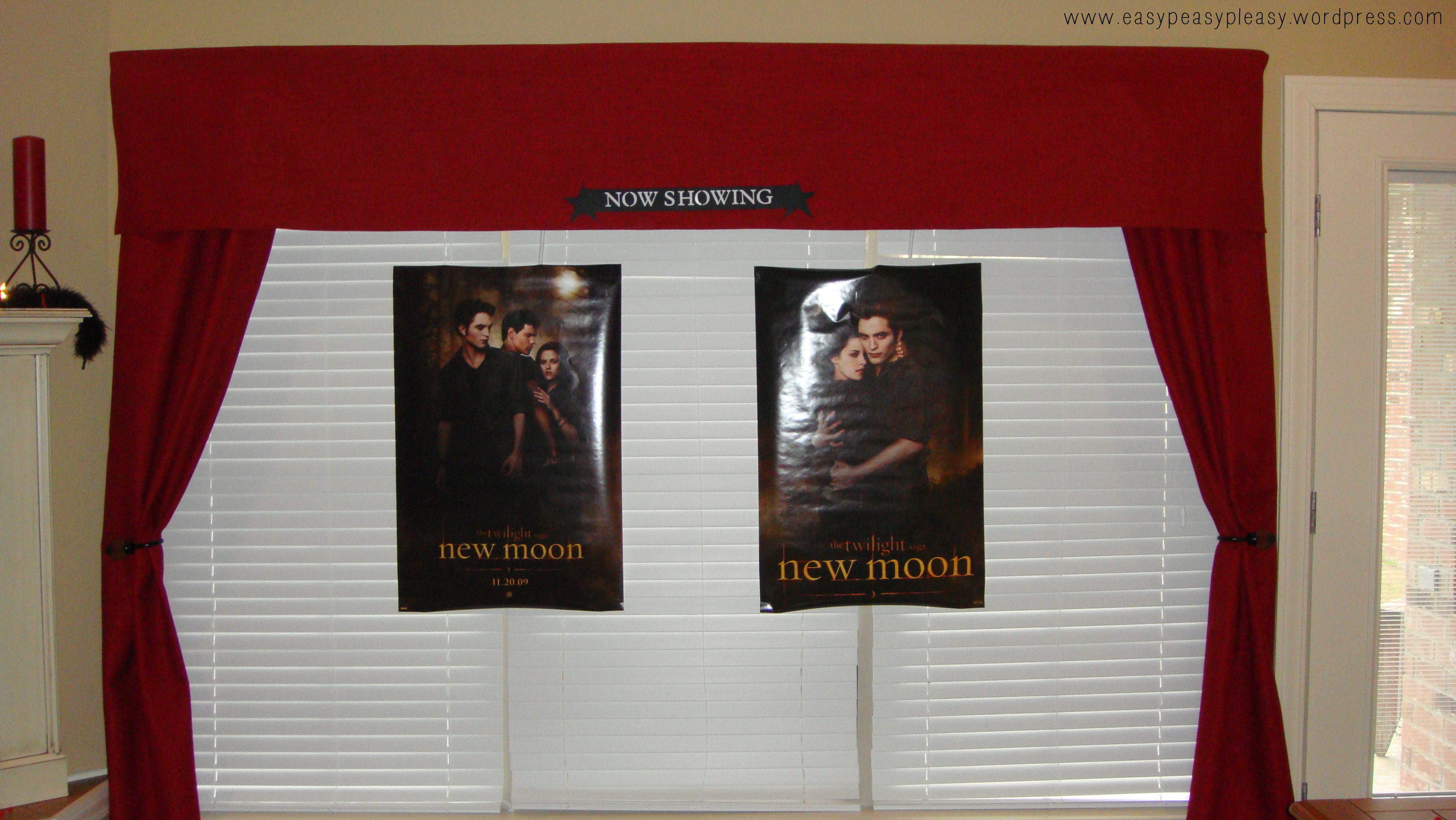 Twilight New Moon Party Now Showing Display