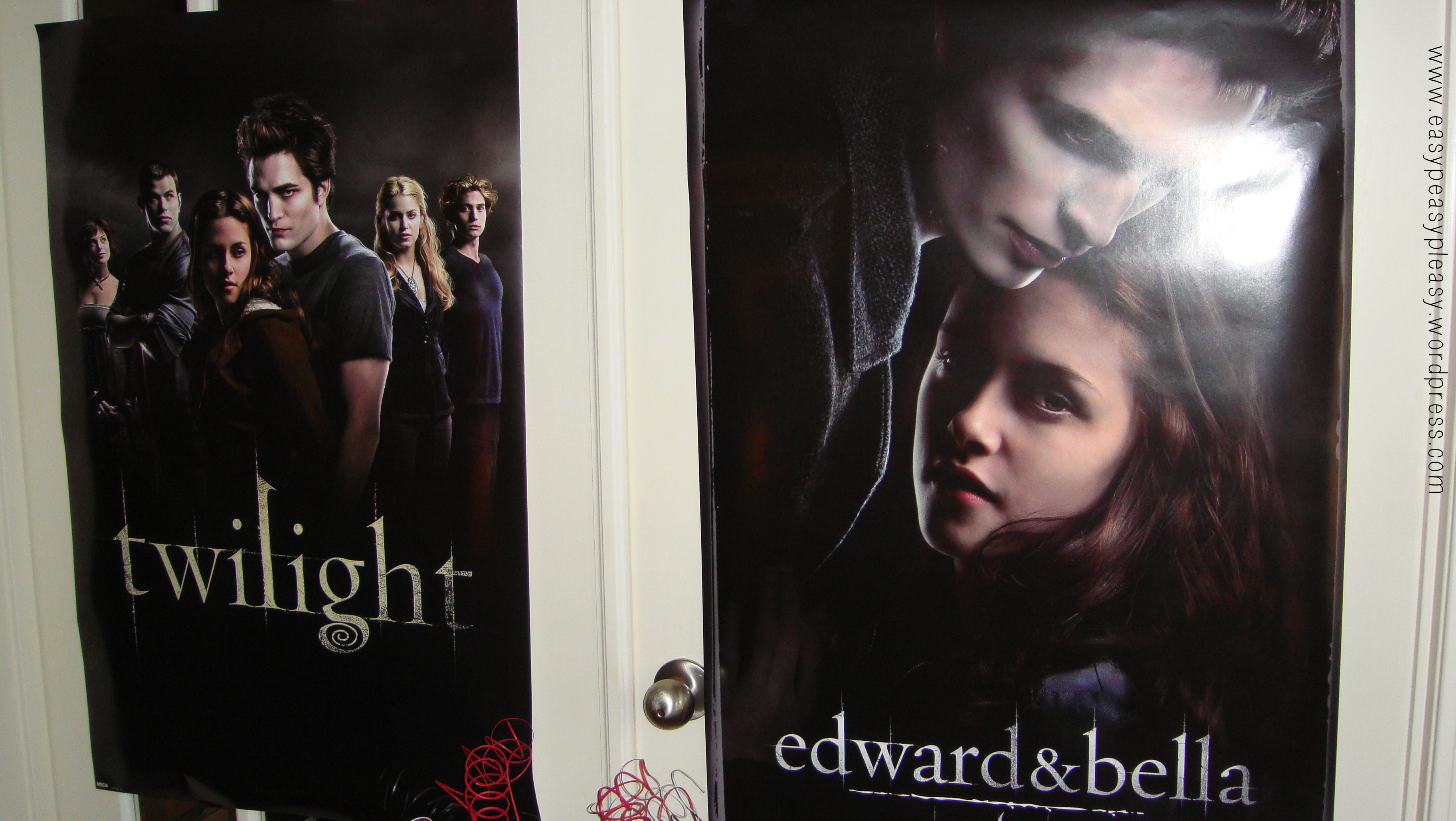 Twilight Saga New Moon Party Now Showing Posters