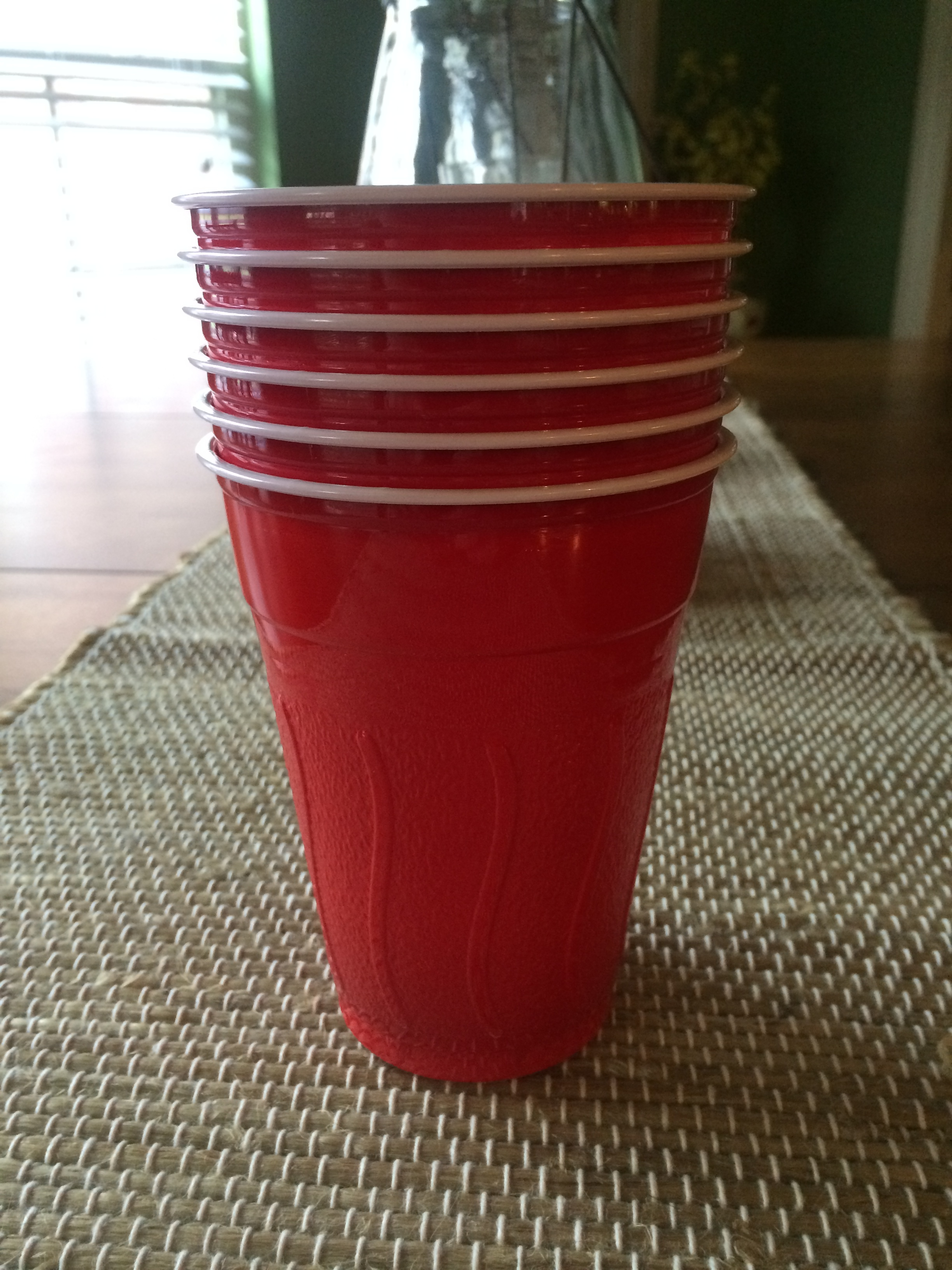 Ways to combat the stomach bug use red solo cups