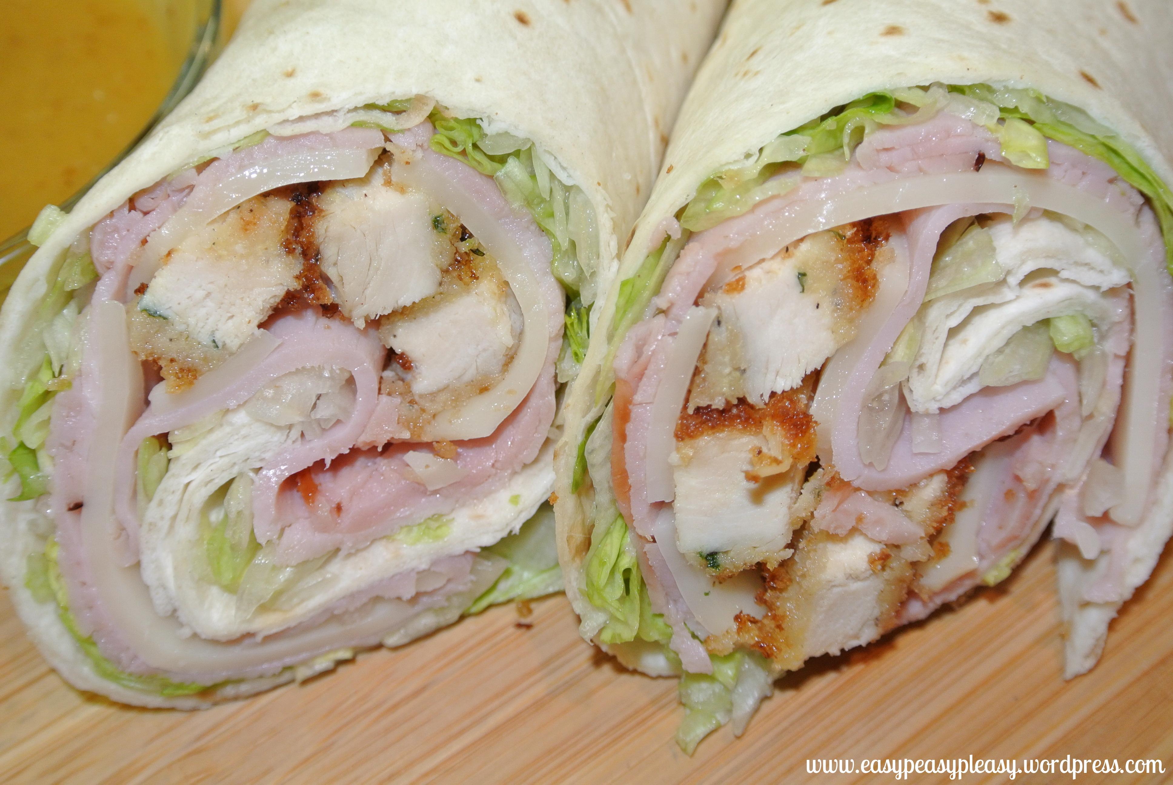 Chicken cordon bleu wraps and a double duty meal idea easy peasy chicken cordon bleu wraps and recipes at httpseasypeasypleasy forumfinder Gallery