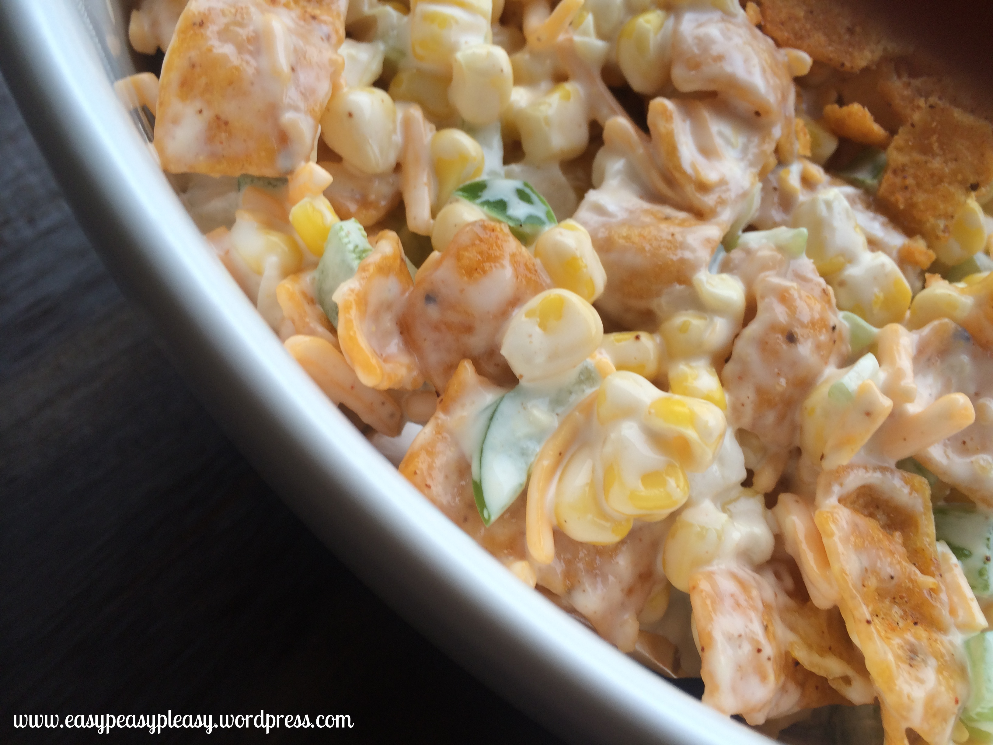 Frito Corn Salad is a quick and easy salad for any get together!