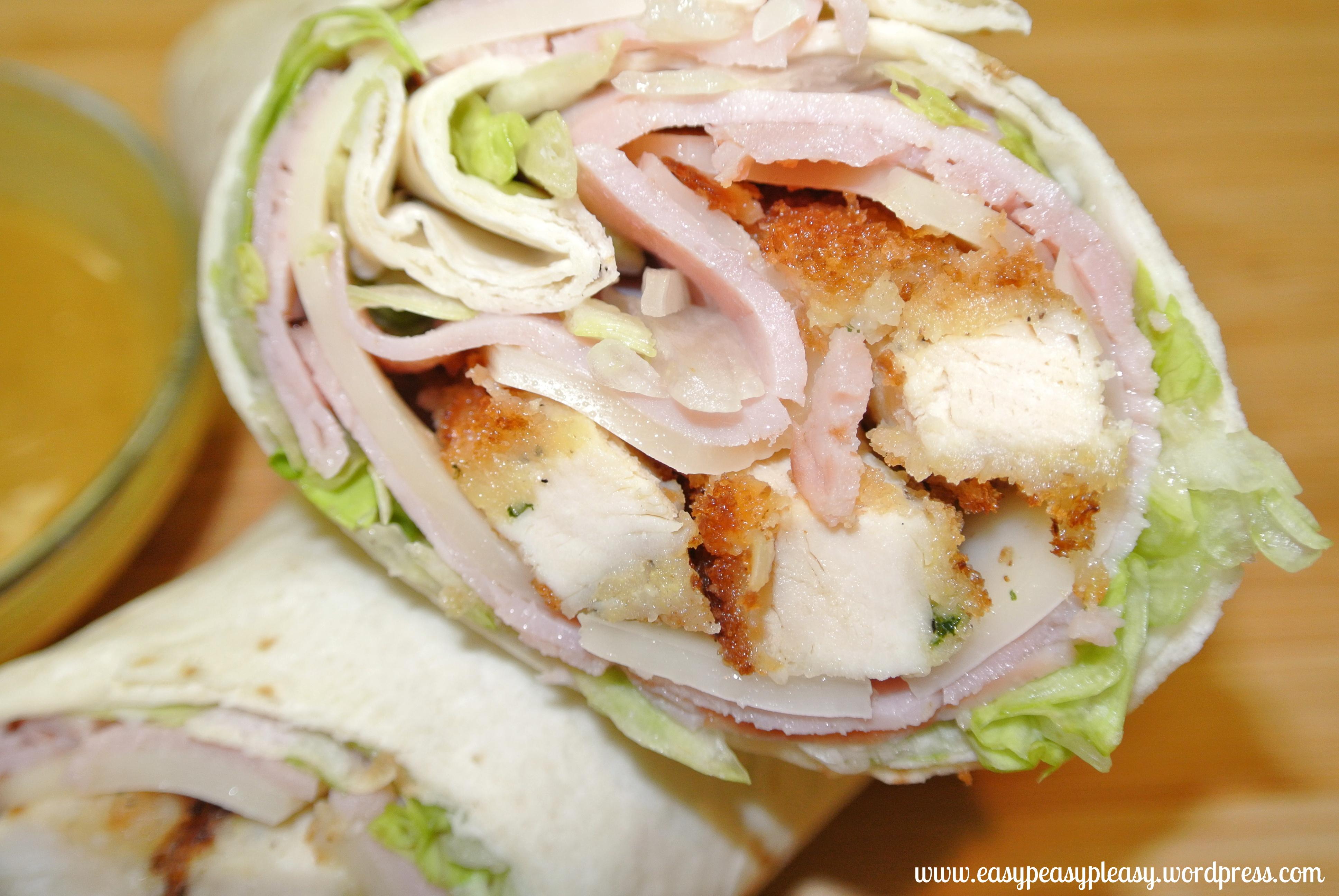 Chicken Cordon Bleu Wraps And A Double Duty Meal Idea ...