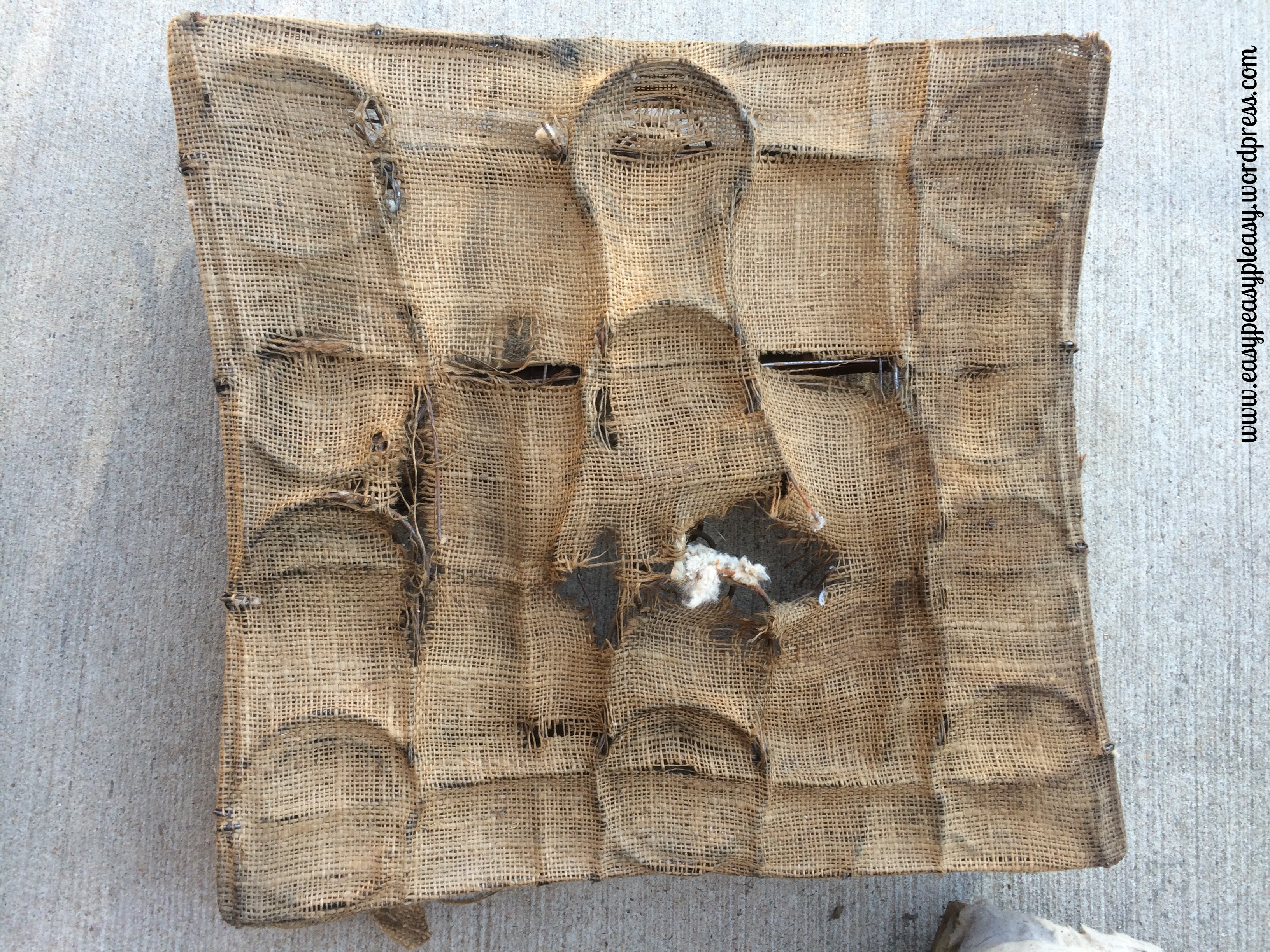 Restoring Wicker and dimanteling each layer