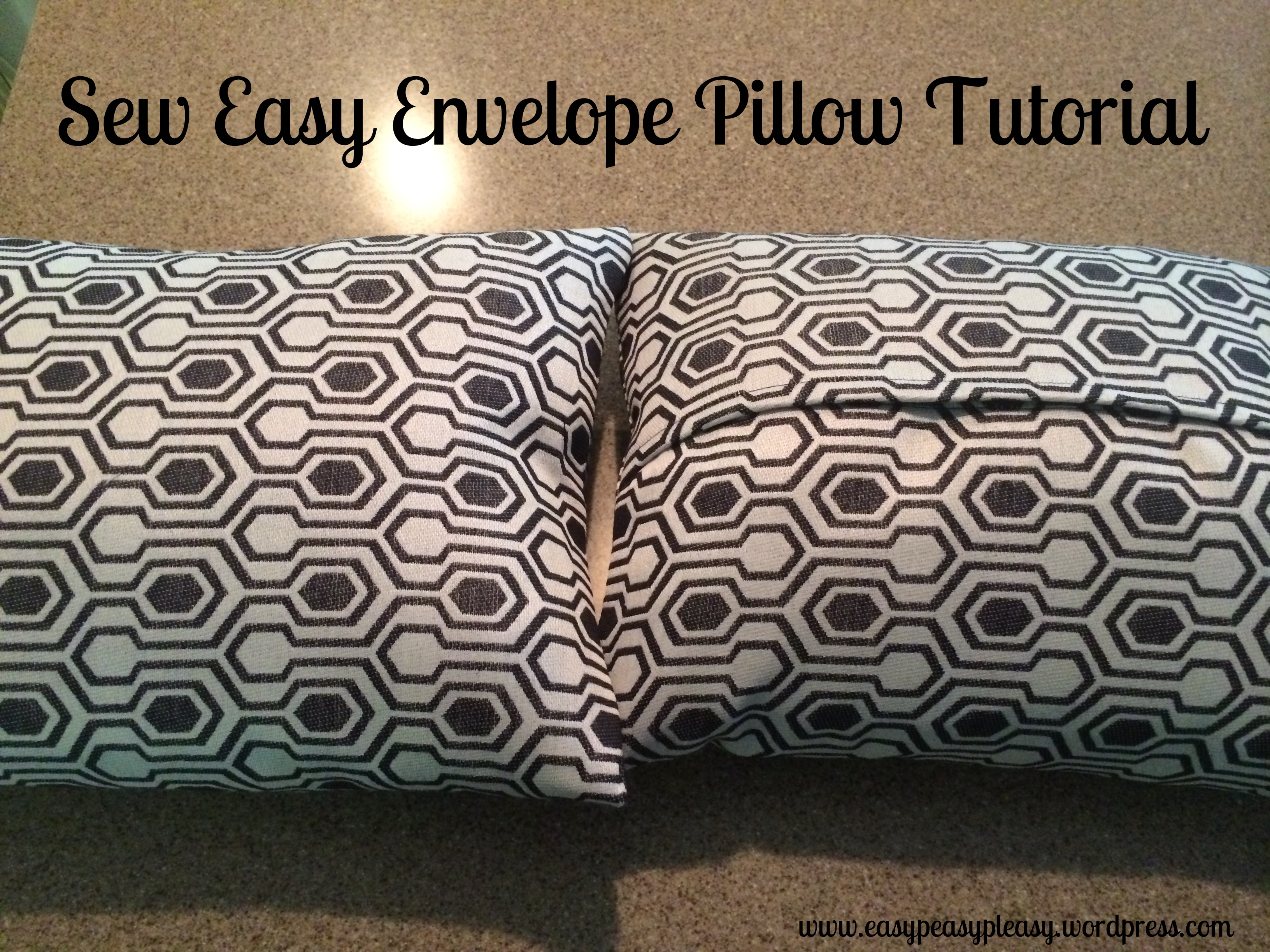 Sew Easy Envelope Pillow Tutorial at https://easypeasypleasy.com-001