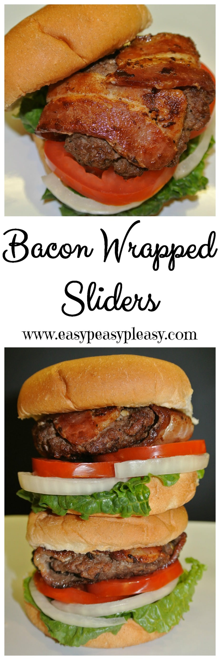 Are you looking for a fun twist on the classic grilled burger? You should try these Bacon Wrapped Sliders at your next cookout!