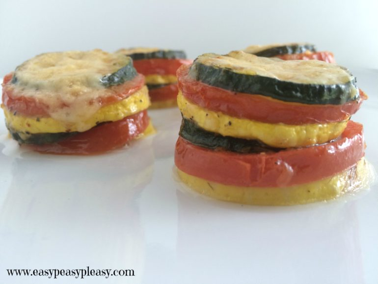 Check out this fun way to serve up your summer vegetables with my Summer Vegetable Stacks recipe.