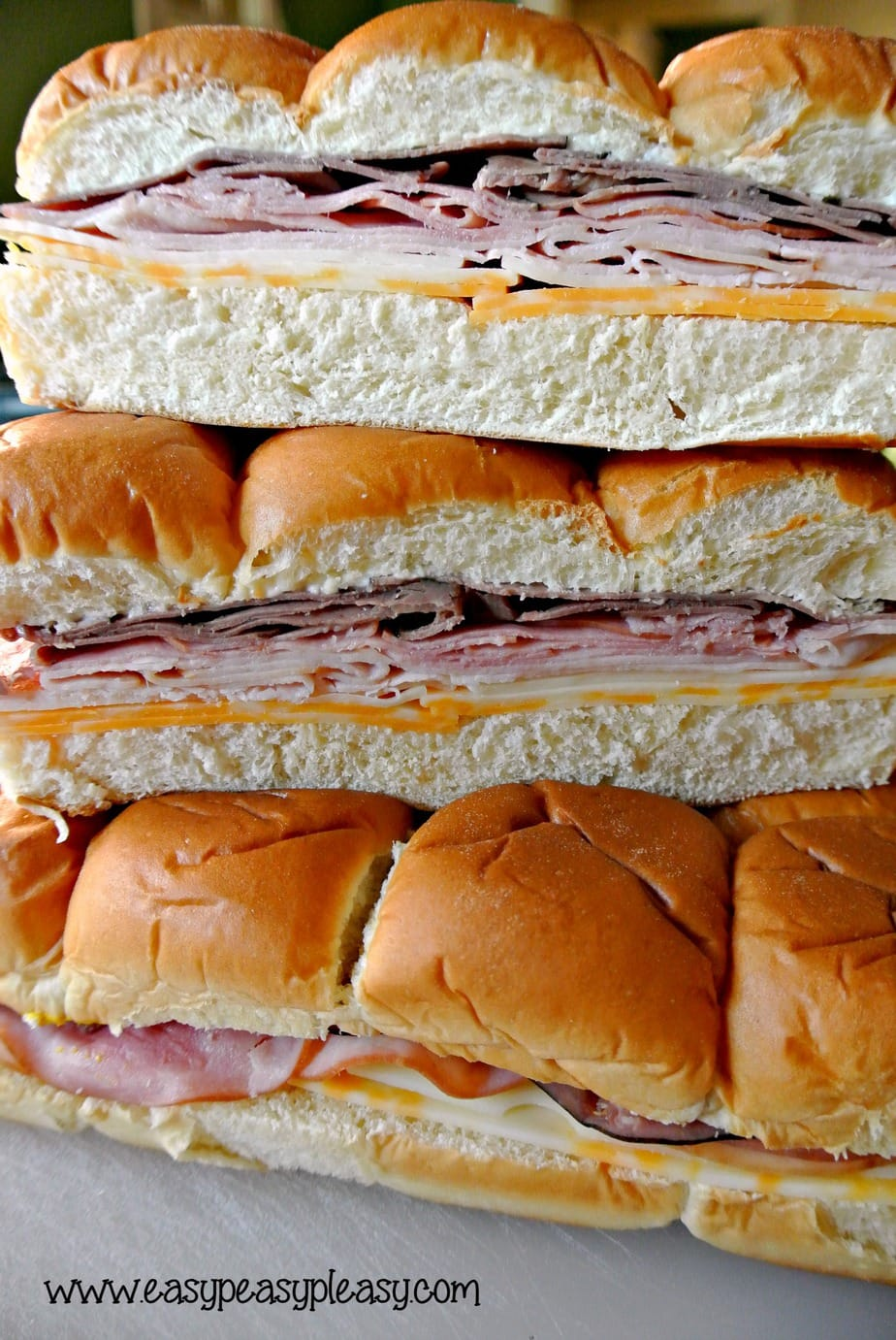 The Easiest To Go Sandwiches for your cooler that require no cleanup. Perfect for the lake, ballpark, beach, camping, and tailgating!