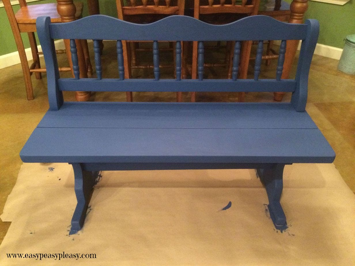 Easy DIY Bench Makeover Steps