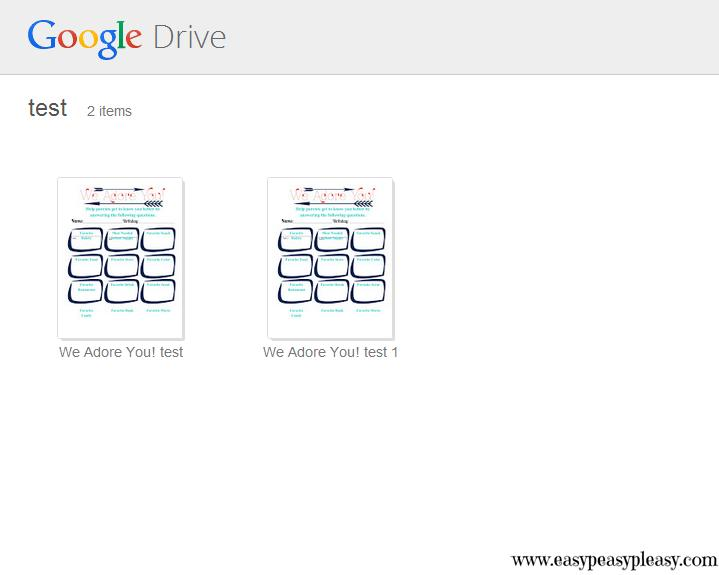 Google Shared Folder Turtorial