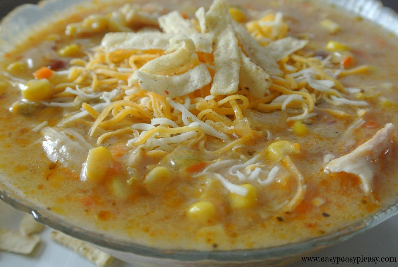Chicken Chipotle Corn Chowder is the perfect spicy soup to warm you up on a cold day.