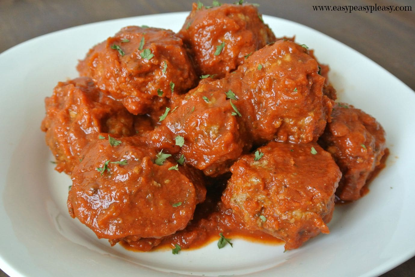 The easiest homemade and kid approved meatballs ever!