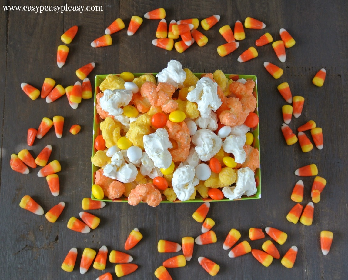 Candy Corn Munch is the perfect Halloween treat!