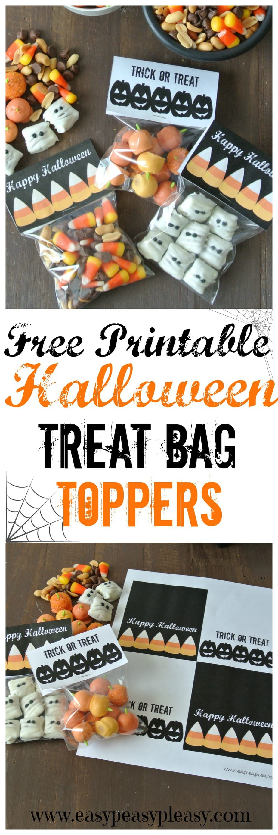 Free Printable Halloween Treat Bag Toppers
