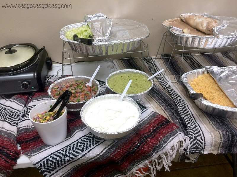 Teacher Appreciation Lunch Ideas Mexican Fiesta Fixings!