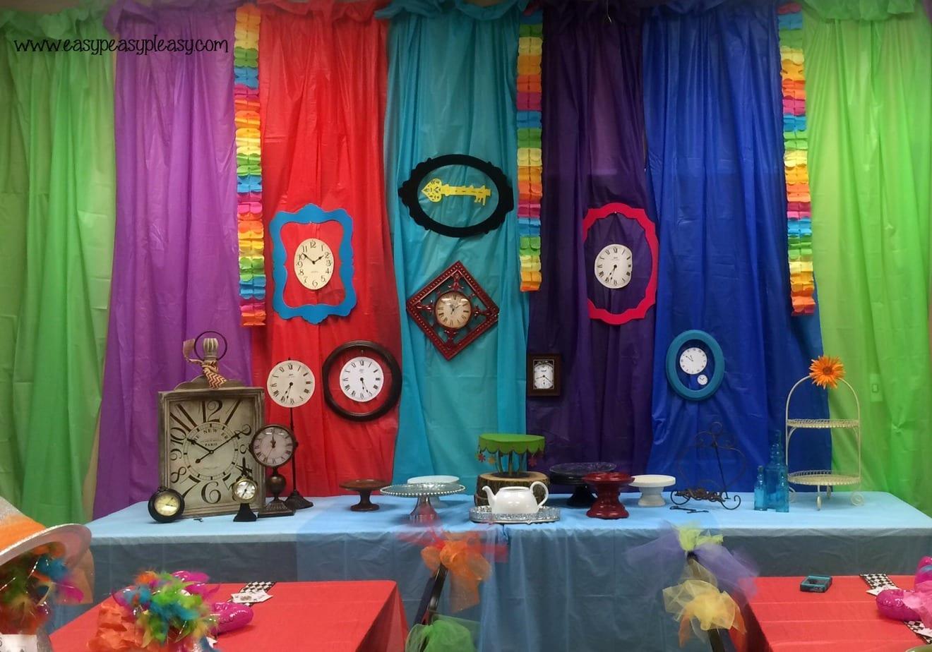 Alice in Wonderland Teacher Appreciation Week Mad Hatter Tea Party!