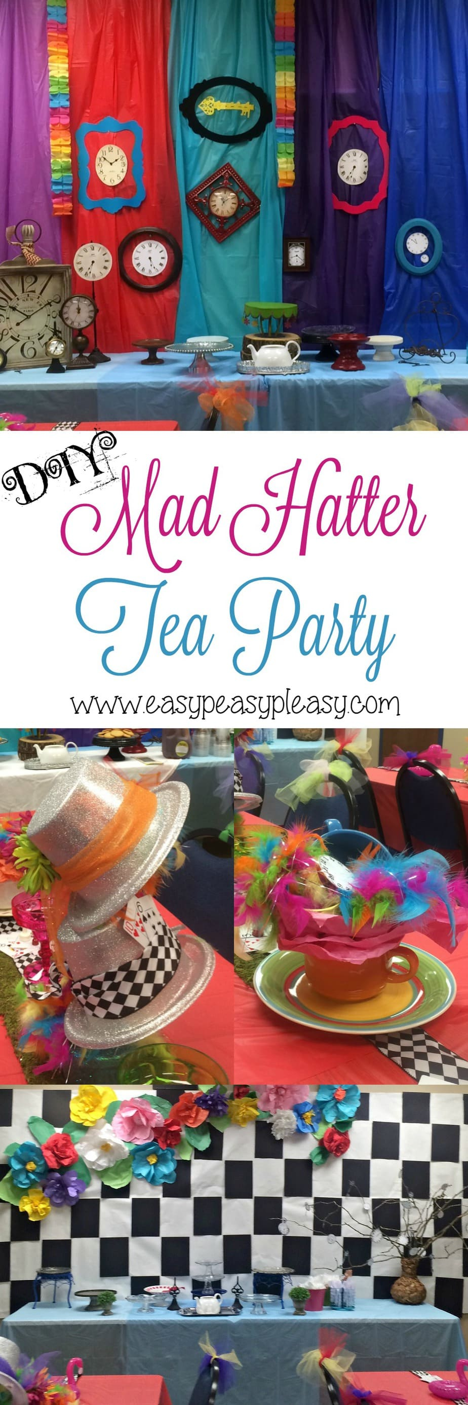 DIY Mad Hatter Tea Party!