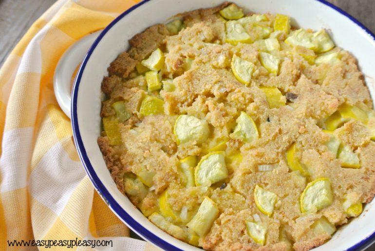 Delicious and easy squash casserole.