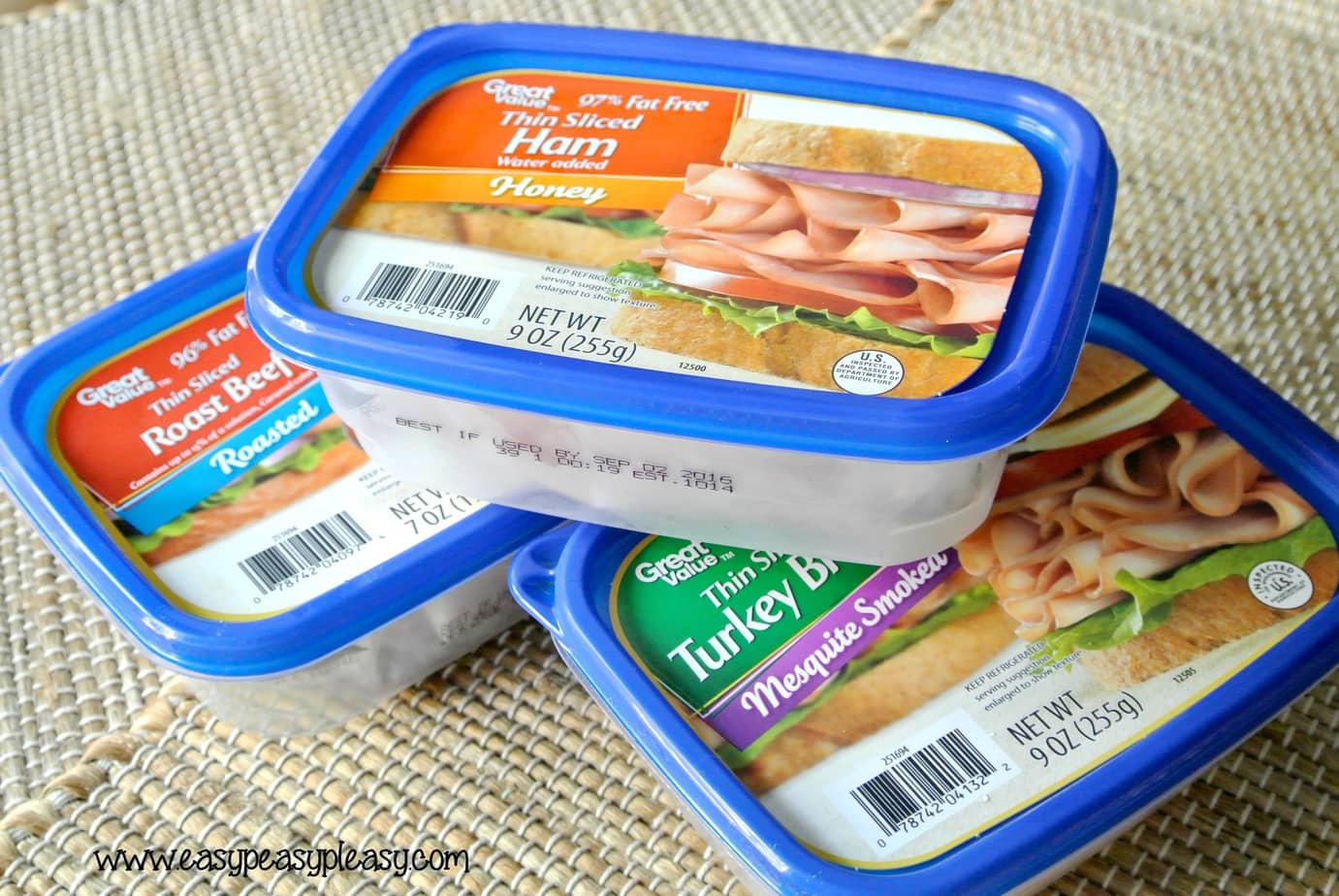 Don't throw these containers away! Let me show you how I use these lunch meat containers for cooler meals!