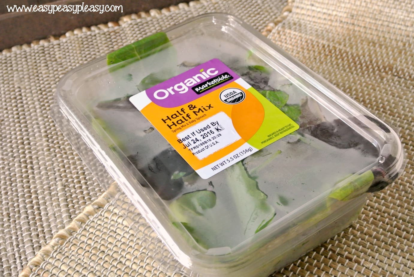 How to make To Go Salads with no cleanup.