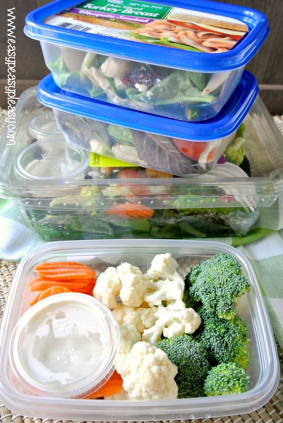 Make food on the go healthy, easy, and with no cleanup. Perfect addition to the cooler for picnics, the beach, the boat, the ballpark, and camping.