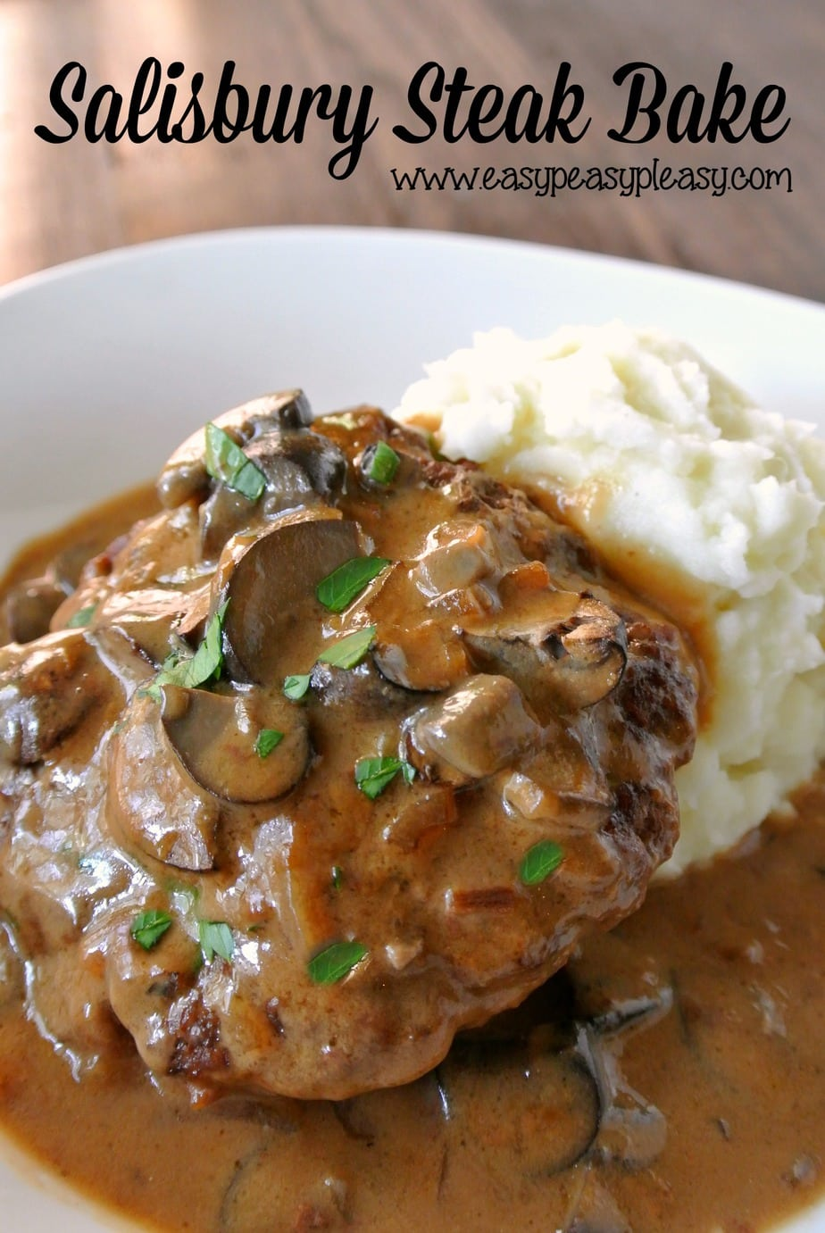 Easy salisbury steak recipe with hamburger patties