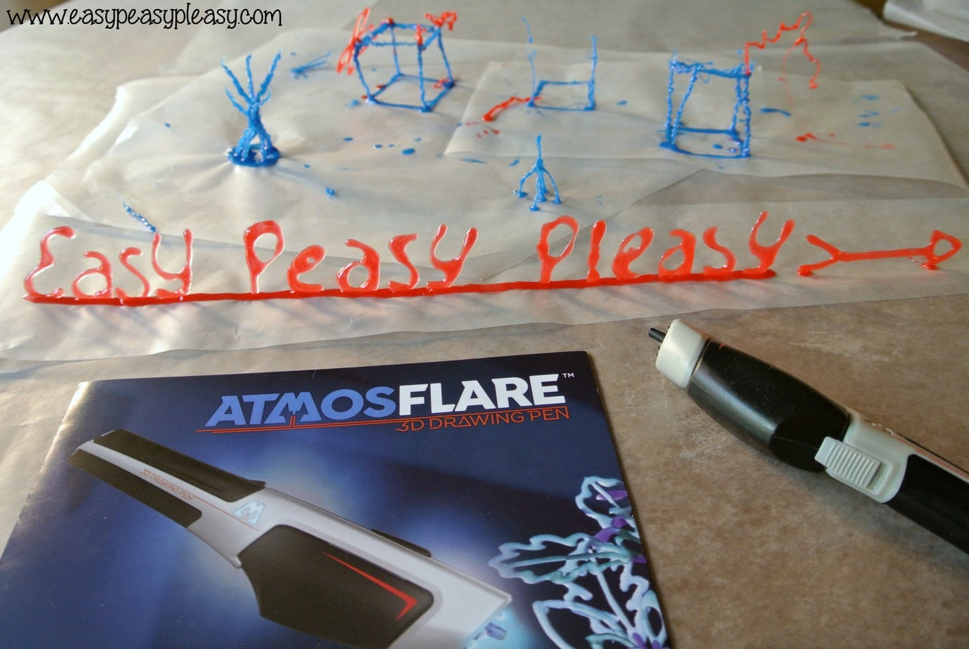 (AD) Cut down on TV time and get the kids to use their imagination with the AtmosFlare 3D Pen.